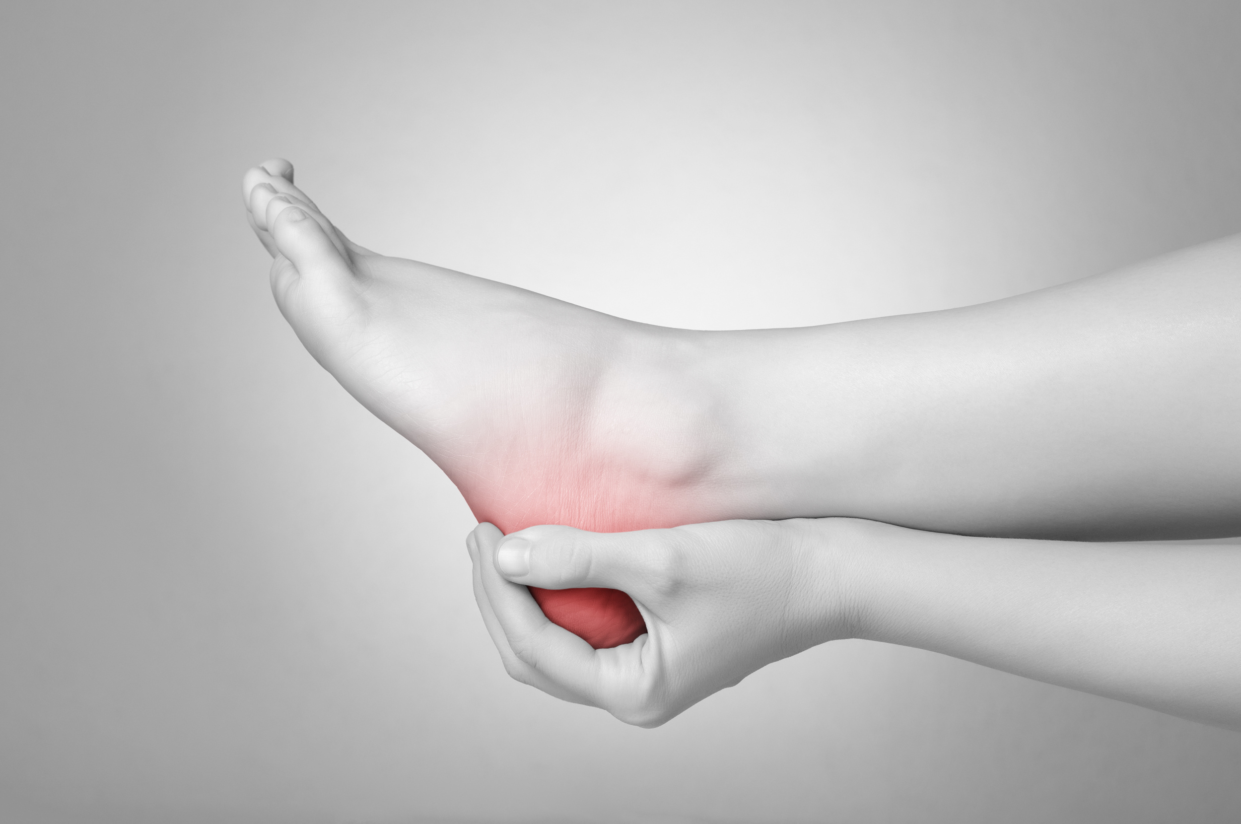 Heel pain is common with increased activity levels