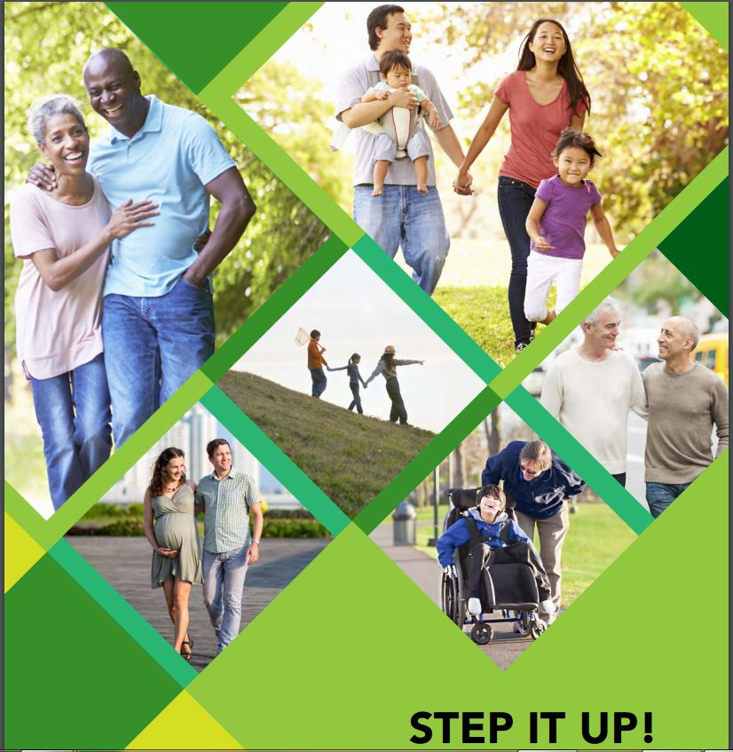 Step It Up!  Walk for Health, Fitness and your Favorite Cause